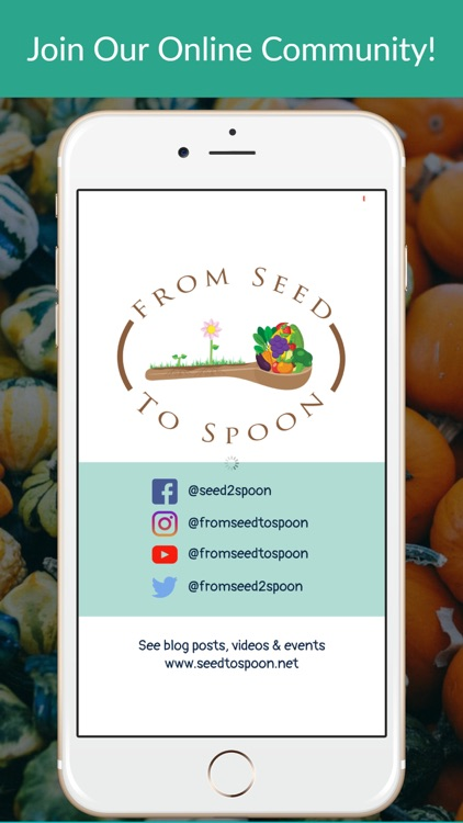 From Seed to Spoon Gardening screenshot-8