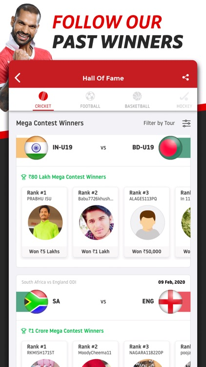 Dream11 Fantasy Sports screenshot-6