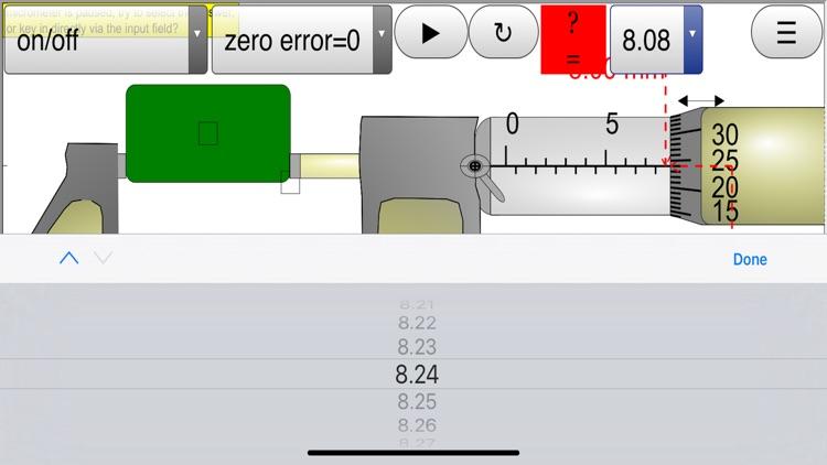 Micrometer Simulator Pro screenshot-4