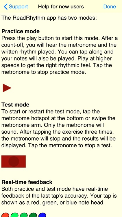 Rhythm Sight Reading Trainer screenshot-4