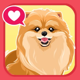 Pomeranian Dog Emoji Stickers
