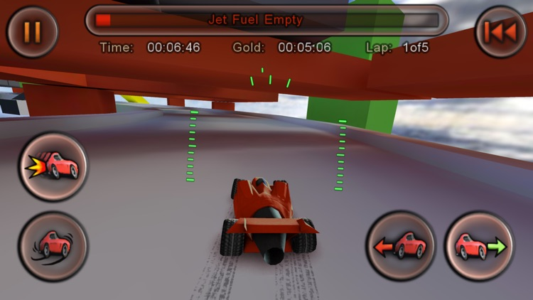 Jet Car Stunts Lite screenshot-3