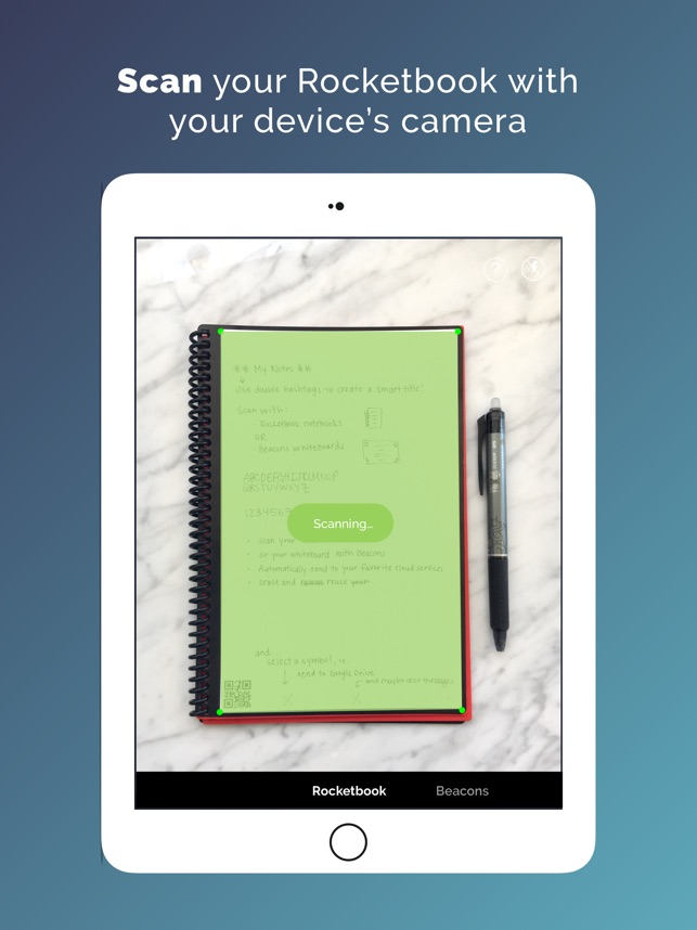 photograph regarding Rocketbook Printable Pages titled Rocketbook Application upon the Application Keep