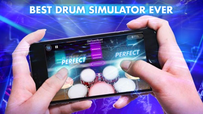 Drum Max - Real Drum Set screenshot 1