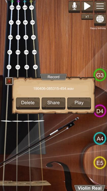 Violin Real screenshot-6