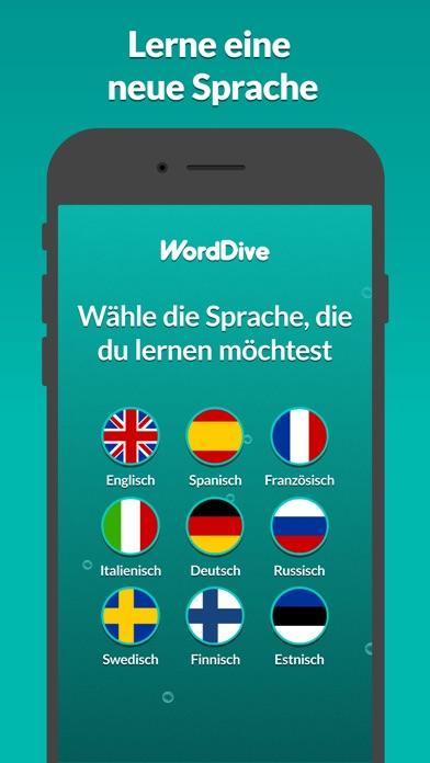 Screenshot for WordDive: Sprachen lernen in Germany App Store