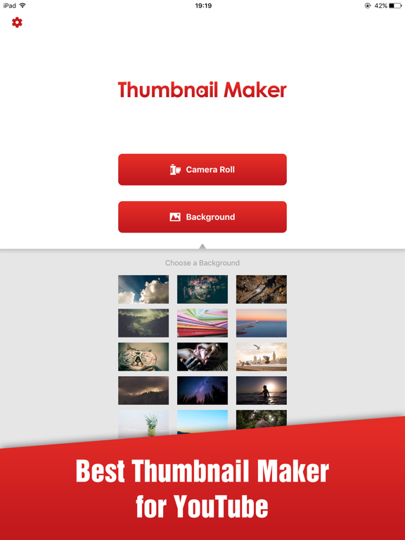 Thumbnail Maker App