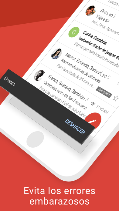 Screenshot for Gmail: El correo de Google in Colombia App Store