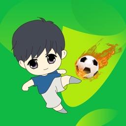 足球小将-两人足球PK