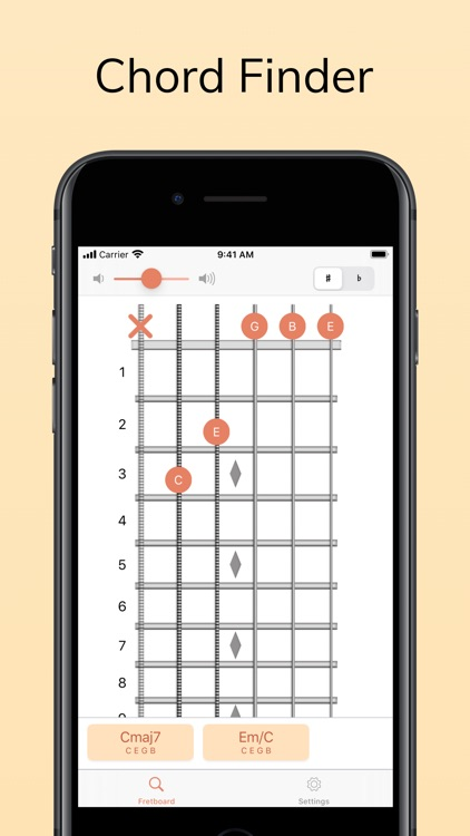 ChordAid: Chord Finder screenshot-0