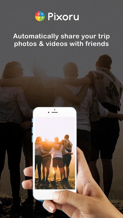 Pixoru - Friends Photo Sharing