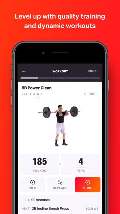 Volt: Gym & Home Workout Plans screenshot-0