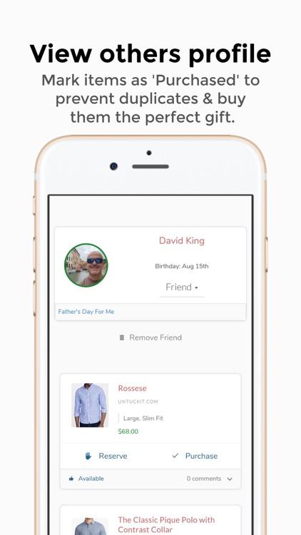 GoferGift:Online Gift Wishlist