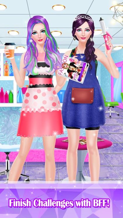 Hair Styles Fashion Girl Salon screenshot-3