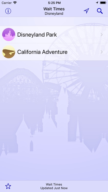 Wait Times for Disneyland screenshot-2