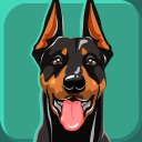 Doberman Pinscher Dog Emoji