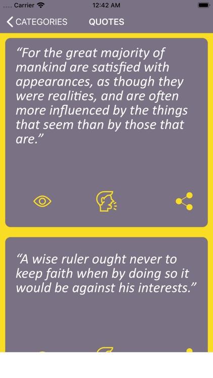 Wisdom of Machiavelli