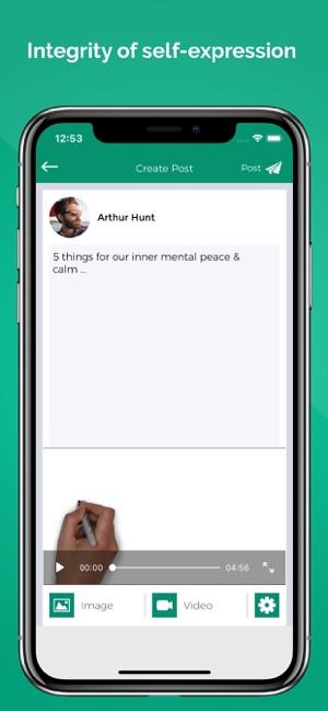 ConnectSocial: Secure Network Screenshot