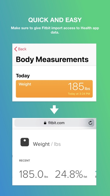 Fitbit Import screenshot-3