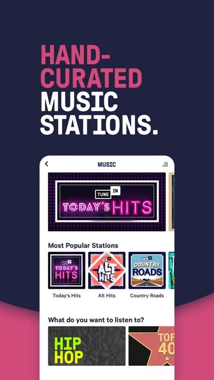 TuneIn Radio: Live News, Music screenshot-4
