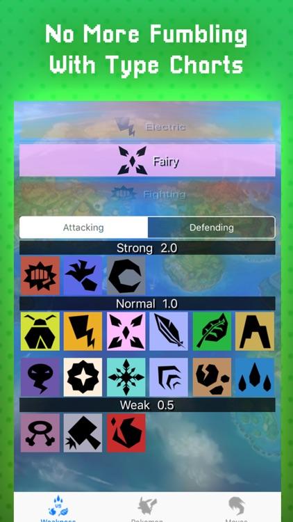 Type Weakness For Pokemon Go