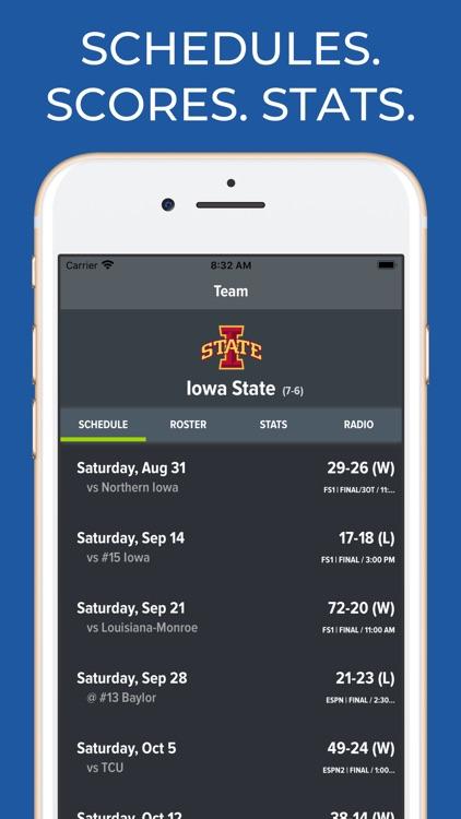 Iowa State Football Schedules