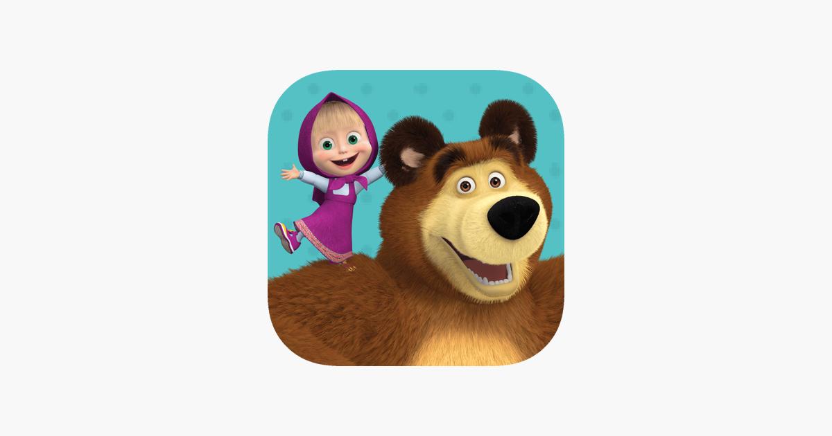 App Store маша и медведь игры мультики