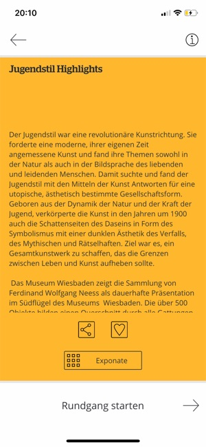 ?Museum Wiesbaden - Guide Screenshot