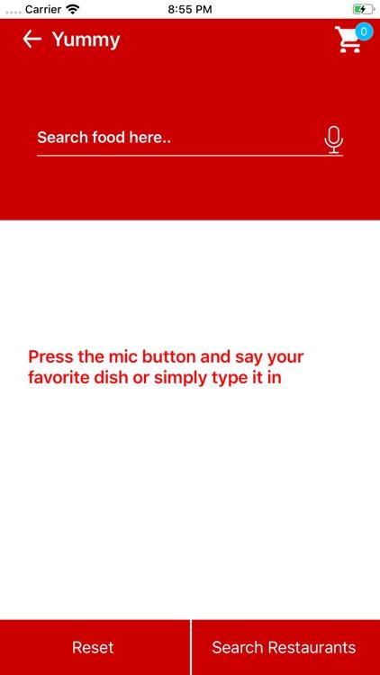 Yummy Food App