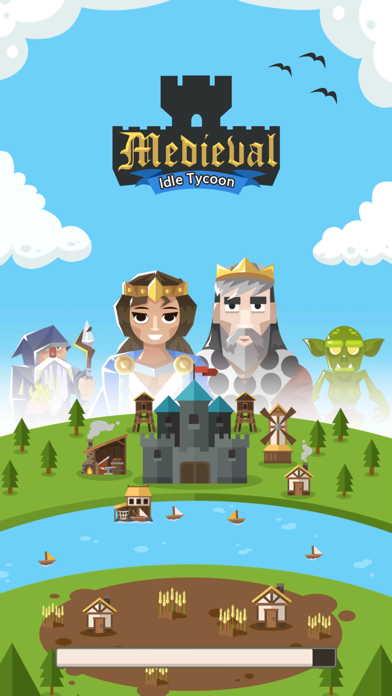 Medieval: Idle Tycoon Clicker screenshot one