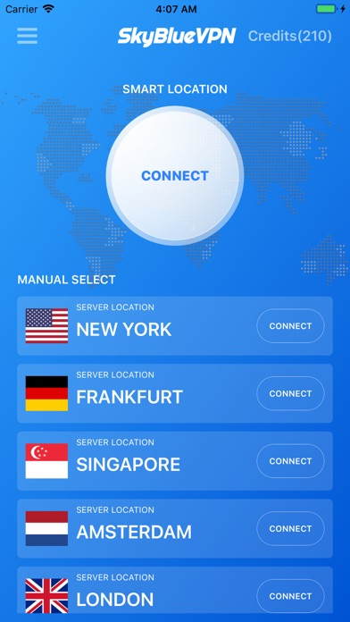 Screenshot for SkyBlueVPN: VPN & WiFi Proxy in Viet Nam App Store