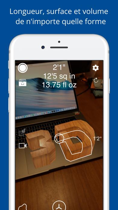 Screenshot #3 pour Mesurer 3D Pro - AR à mesurer