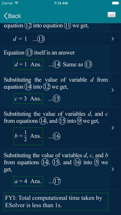 Math Equation Solver - ESolver screenshot-7