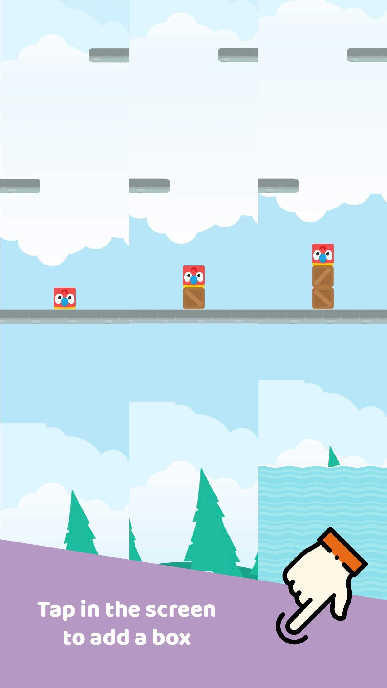 Screenshot do app Topple Towers