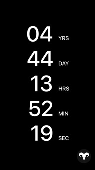 Countdown App iphone images