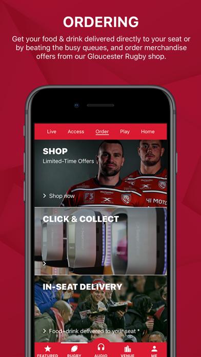 Gloucester Rugby App screenshot four