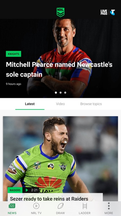 NRL Official App screenshot-5