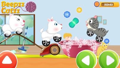 Beepzz Cats - Kids car racing screenshot three