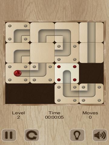 Roll the labyrinth ball на iPad