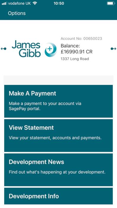 James Gibb Plus screenshot two