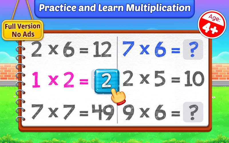 Multiplication Kids: Math Game for Mac
