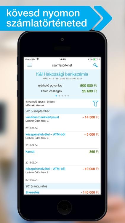 K&H mobilbank screenshot-4