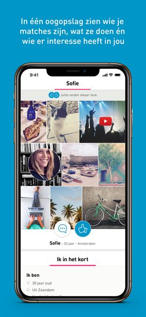 eerste oogopslag dating app