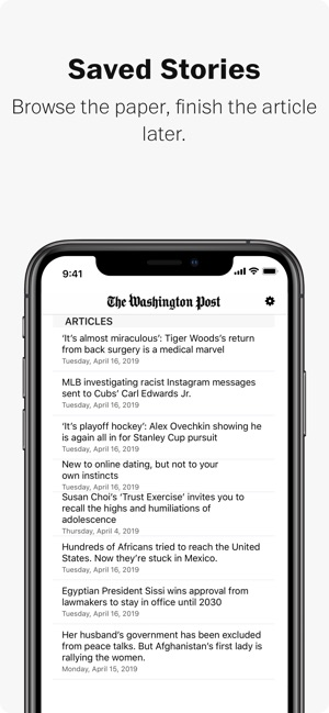 Washington Post online dating