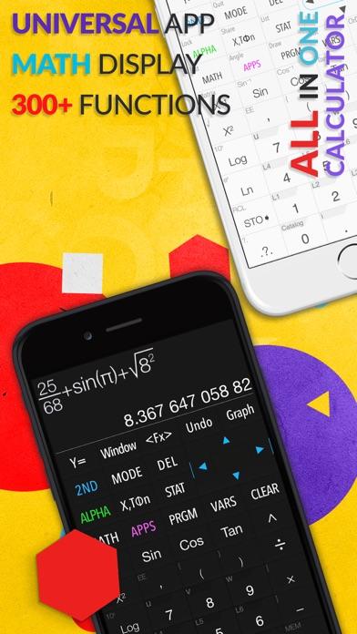 Screenshot for Calculadora Gráfica .CIE in Dominican Republic App Store