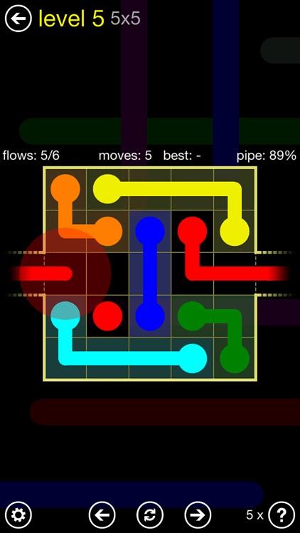 Flow Free: Warps
