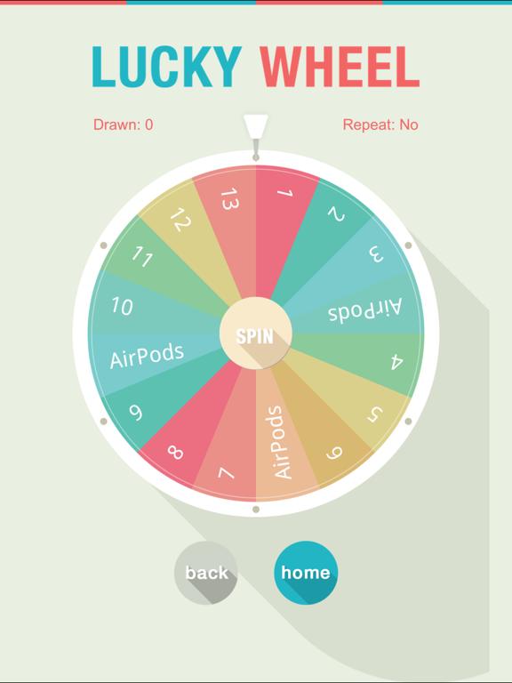 Lucky Wheel Lucky Draw | App Price Drops