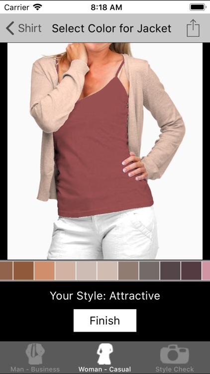 Dress Guide - Color Matching screenshot-4