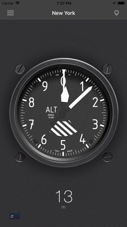 The real Altimeter