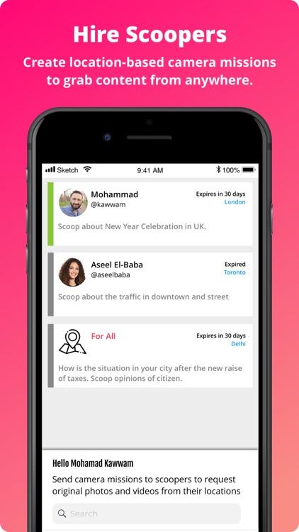 myScoop - Citizen Journalism screenshot-3
